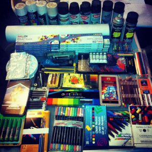 Art Supplies - precedence-setting lawsuits
