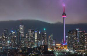 Ontario Skyline at night