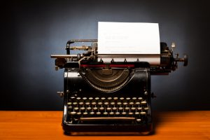 Typewriters, which are solutions for everyone.