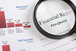 Financial document that needs PDF remediation