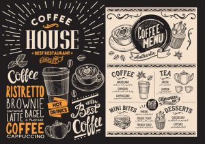 Coffee Shop Menu- ADA compliance for hospitality