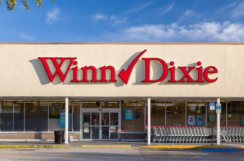 Winn-Dixie grocery store failed to achieve retail ADA compliance