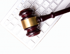 Gavel on Keyboard symbolizing digital accessibility lawsuits