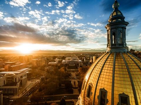 Colorado state building. Colorado now mandates digital accessibility.