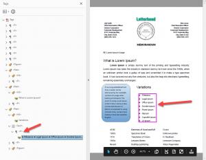 Adobe List error after auto-tagging